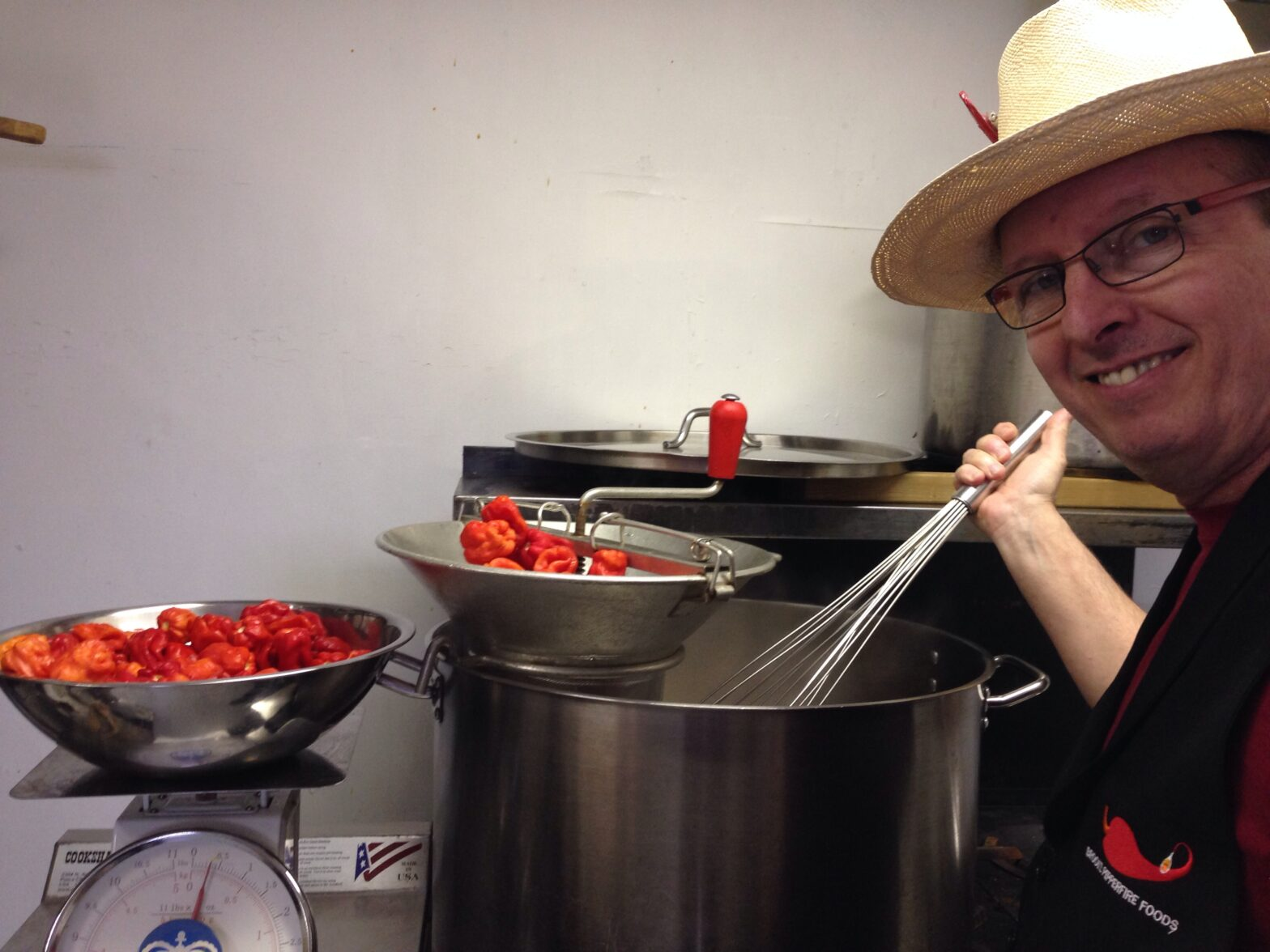 Greg Brooks Stirring a pot